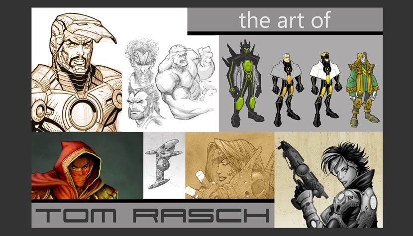 The Art of Tom Rasch