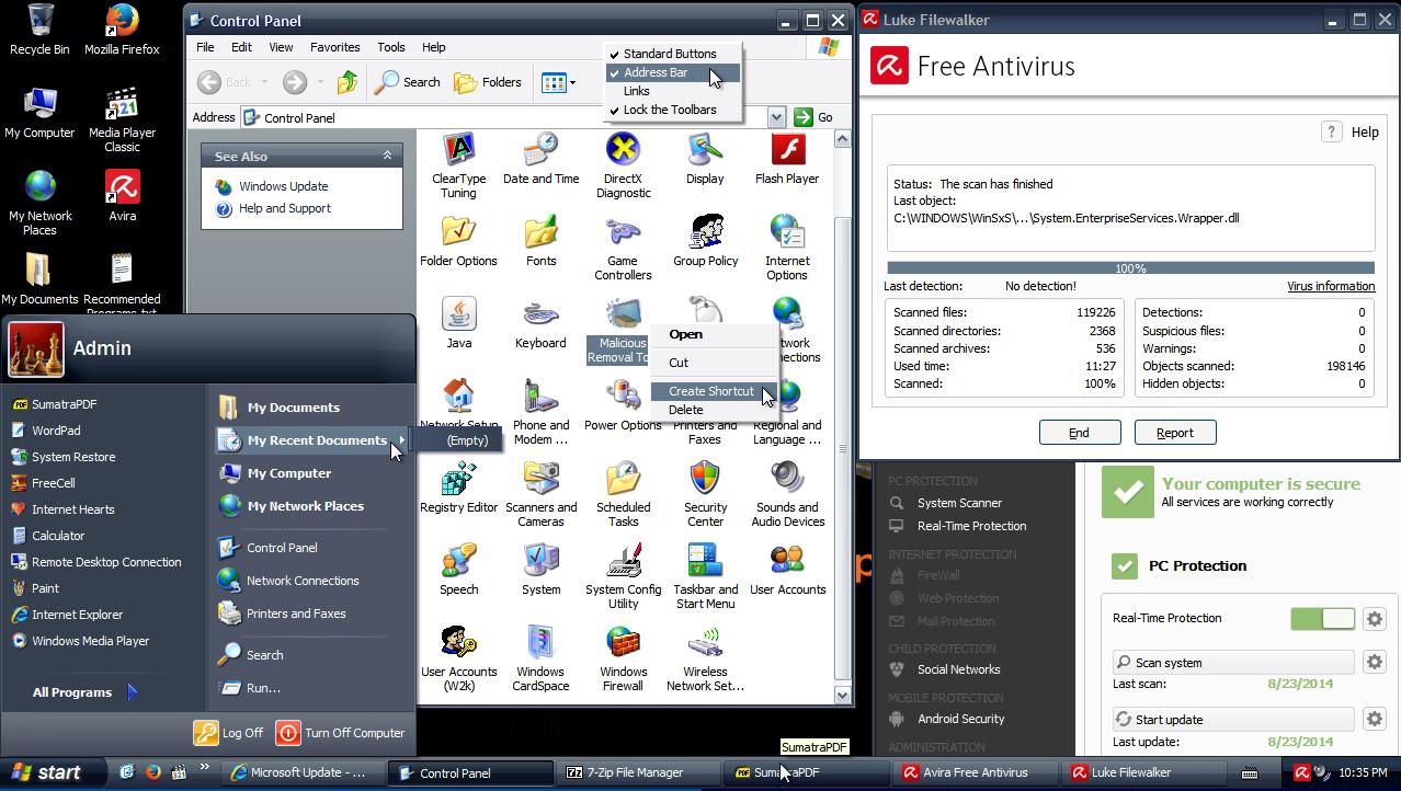 Windows xp professional sp3 x86 vl 11.8.22 rus