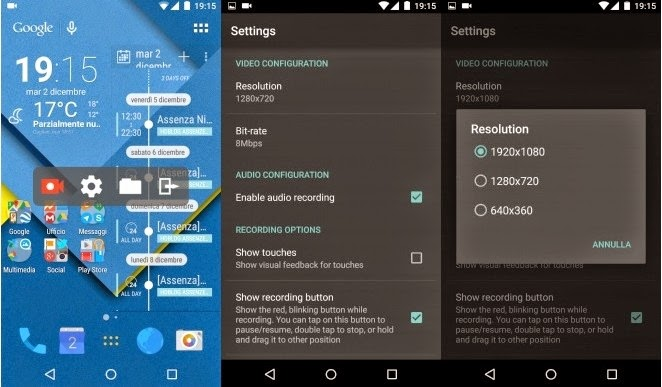 AZ Screen Recorder Android