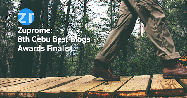 Zuprome: 8th Cebu Best Blogs Awards Finalist