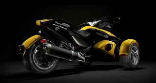 Motorcycle With 3 Wheels HD Wallpaper