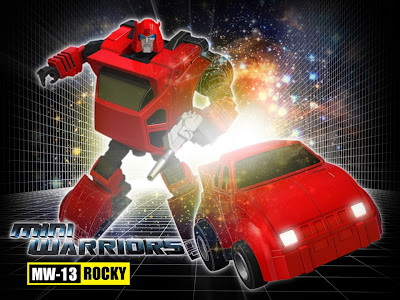 "iGear MW-13 ""Rocky"" [Cliffjumper] Transformers 3rd Party Figure"