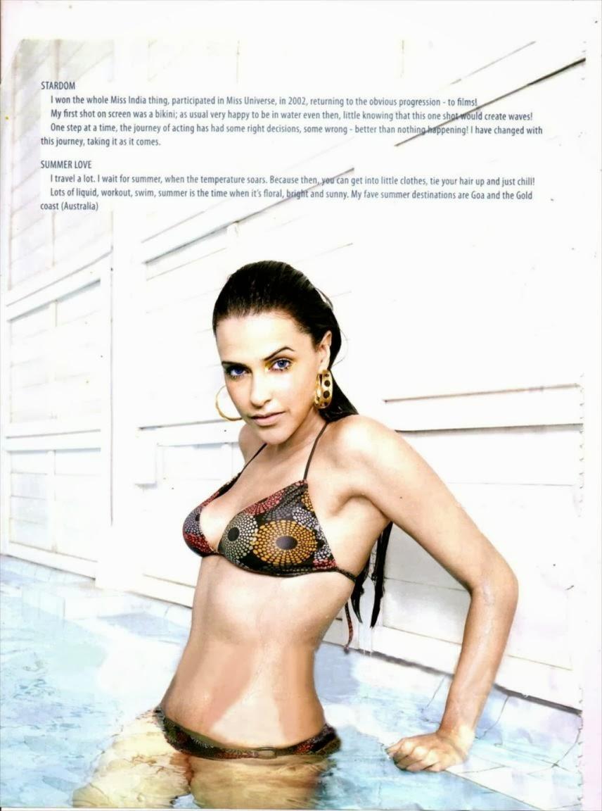 Neha Dhupia in Bikini 2