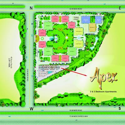 Apex Tower :: Site Plan