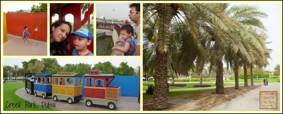 Creek Park in Dubai
