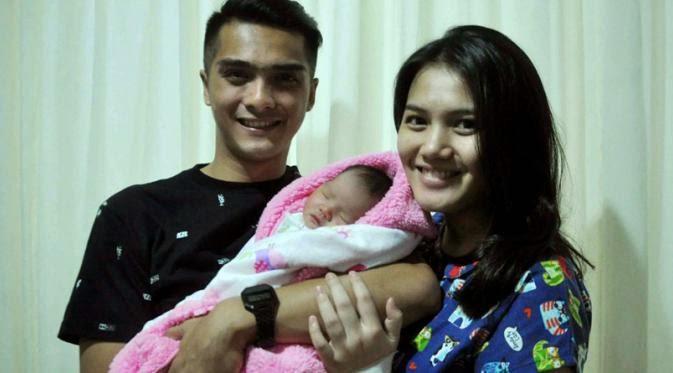 Mikaila Akhiza Pratama Putri Cantik Ricky Harun Lahir