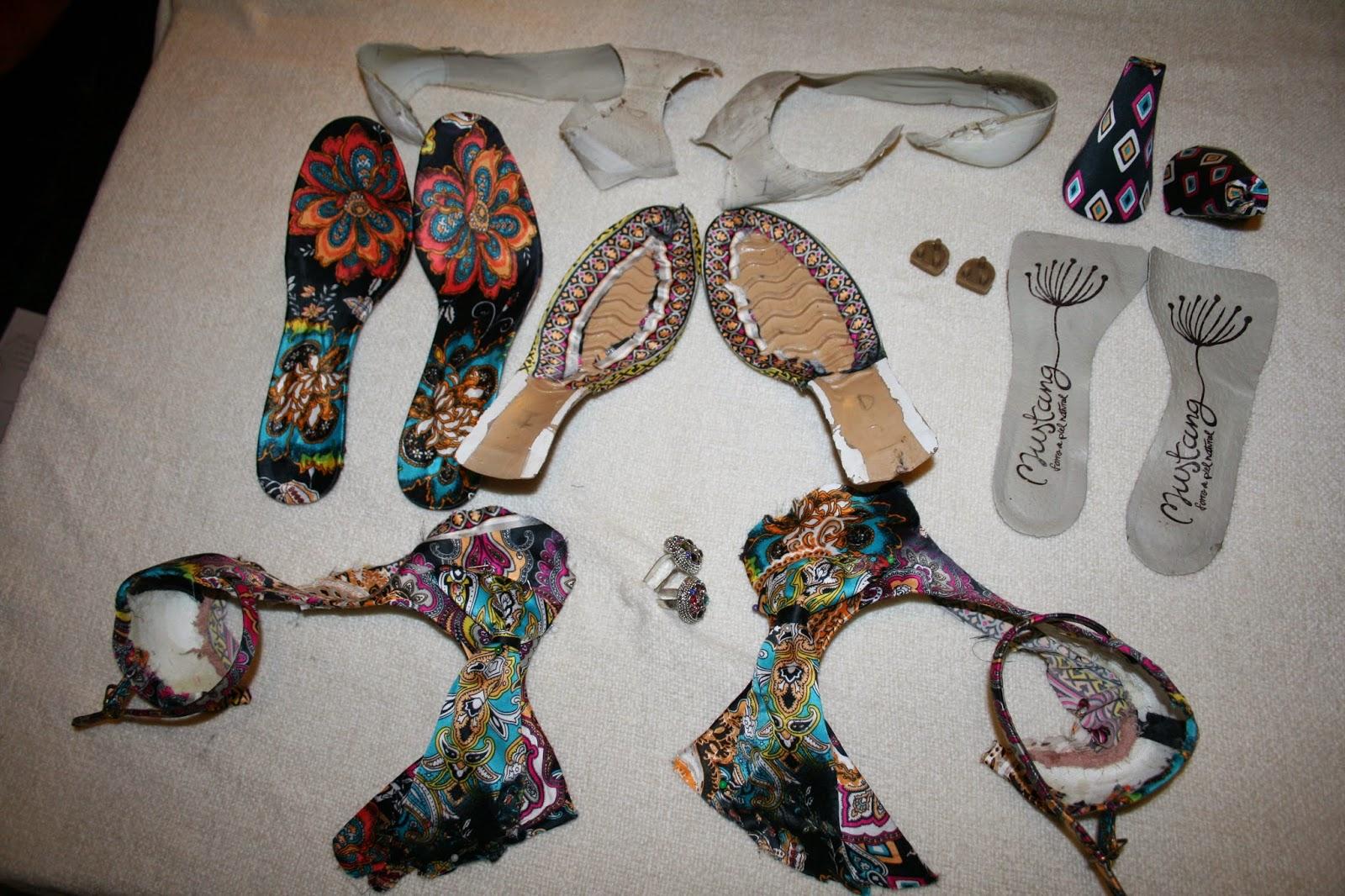 Se forran zapatos zapatos forrados con tela estampada de - Zapateros de tela ...