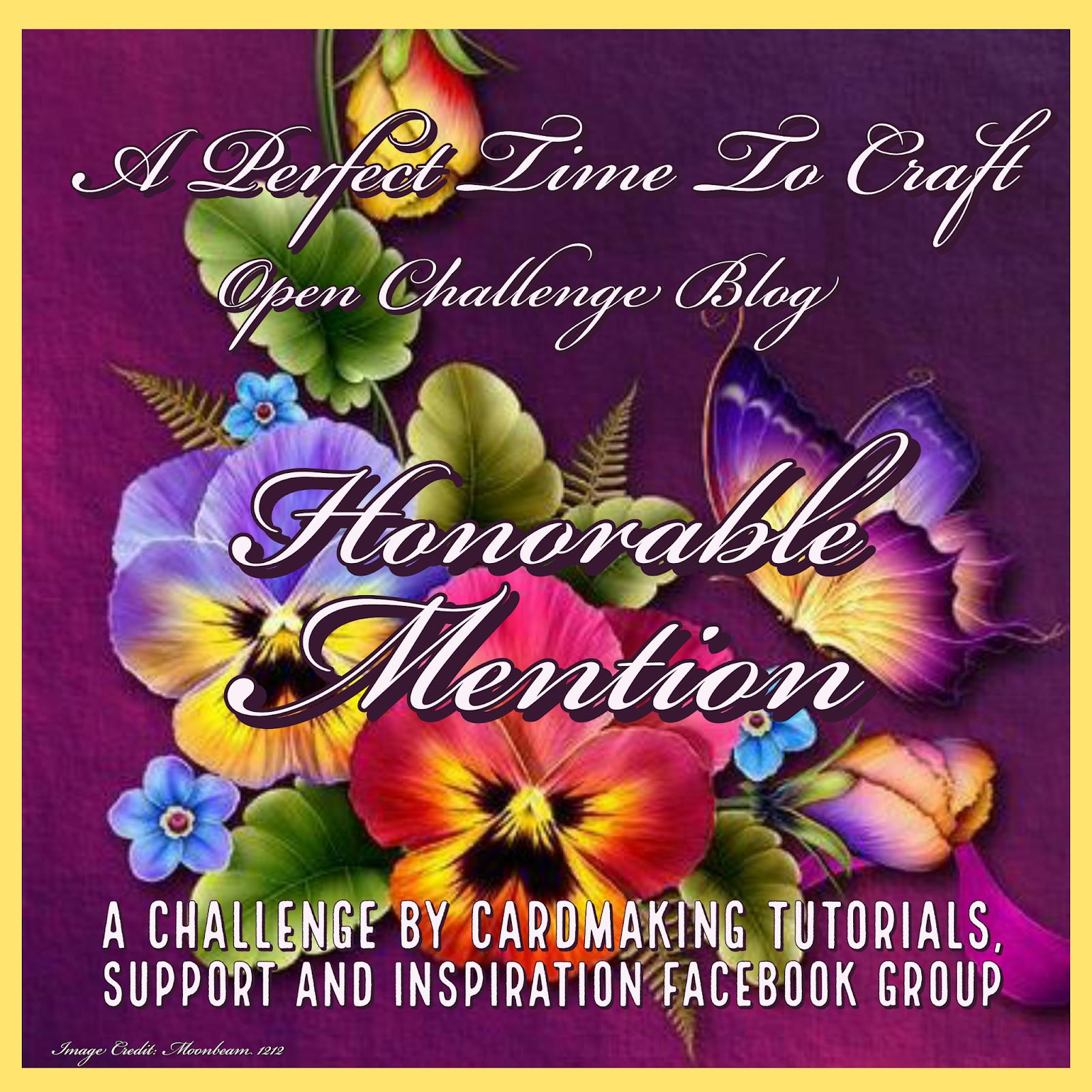 Honorable Mention Winner, January 2021