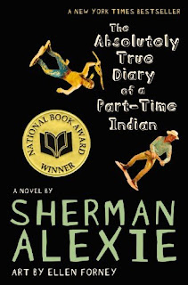 bookcover of ABSOLUTELY TRUE DIARY OF A PART-TIME INDIAN by Sherman Alexie
