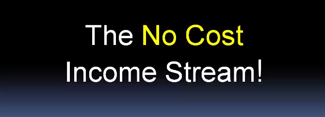 No Cost Income Stream 2.0 Review