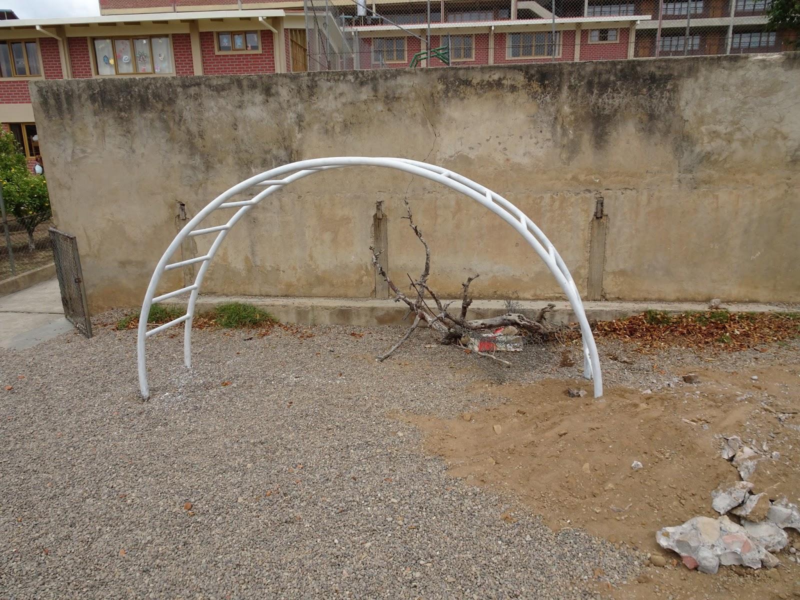Kletterbogen Spielplatz : Sophie in bolivien: ein kleiner zwischenbericht vom spielplatz
