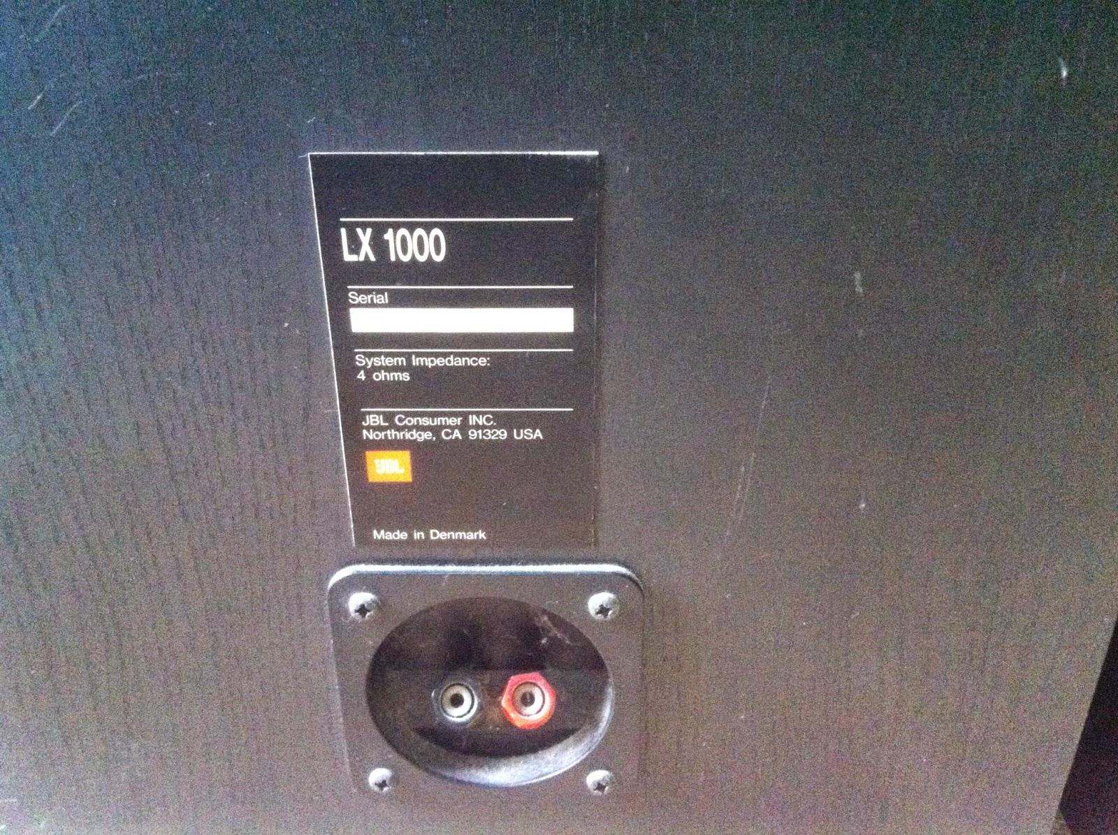 Cận cảnh cầu loa JBL LX 1000