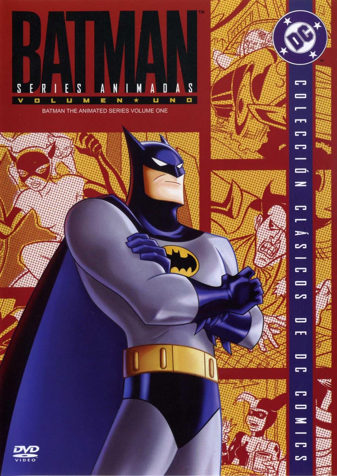 [AVH] Colección DVD Batman La Serie Animada BATMAN+SERIE+ANIMADA