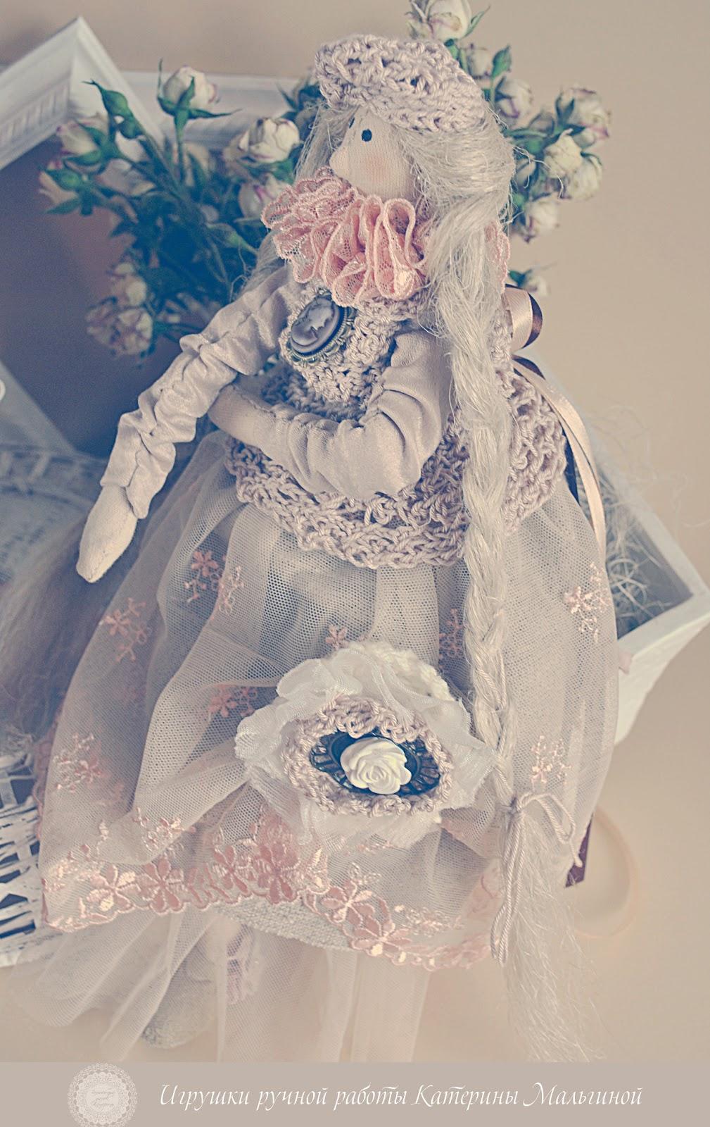 "куколка в стиле Тильда ""Маргарет"""