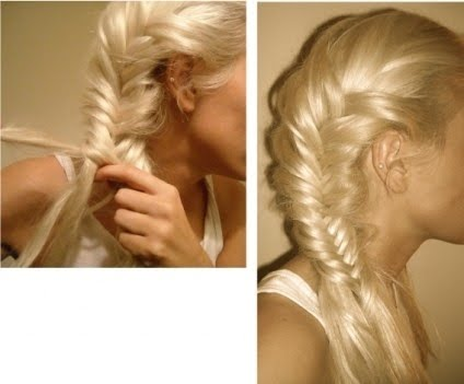 Braid Styles For White Hair Simple How To Make Easy Fishtail Long Braidplait Hair Style 2011  Cool .