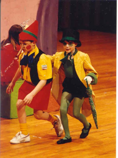 Throwback Thursday, #tbt, Jamie Allison Sanders, hats, hat obsession, fashion, community theater, Pinocchio, Jiminy Cricket, Beachwood Community Theater