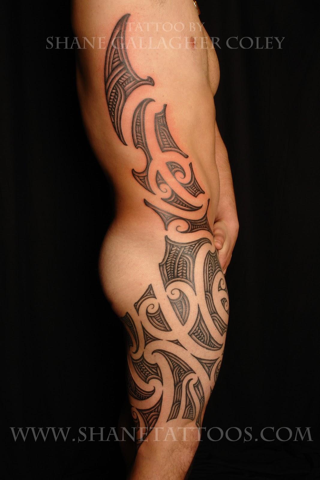 Side Thigh Tattoos