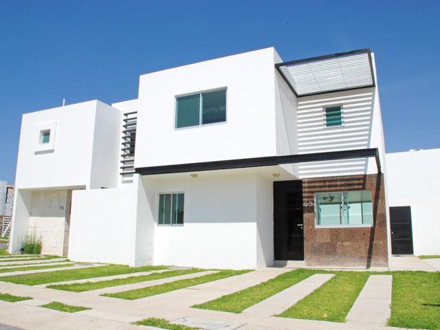 Fachadas de casas modernas fachada moderna en colonia for Casas residenciales minimalistas