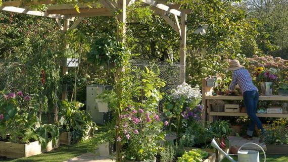 romantiques id es de d coration du jardin d cor de maison d coration chambre. Black Bedroom Furniture Sets. Home Design Ideas