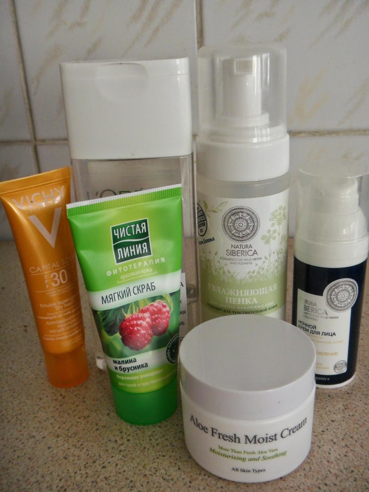 Увлажняющая пенка для снятия макияжа для чувствительной кожи