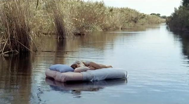 where will i wake up tomorrow bed floating down on river