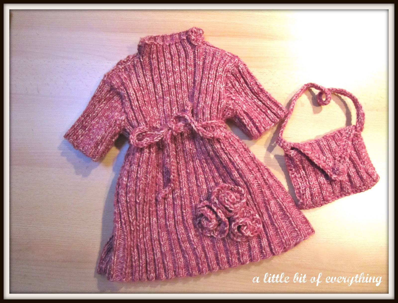 Knitting Patterns Database Apk : Needlework: Knitted Baby Dress