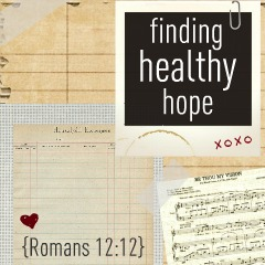 Finding Healthy Hope