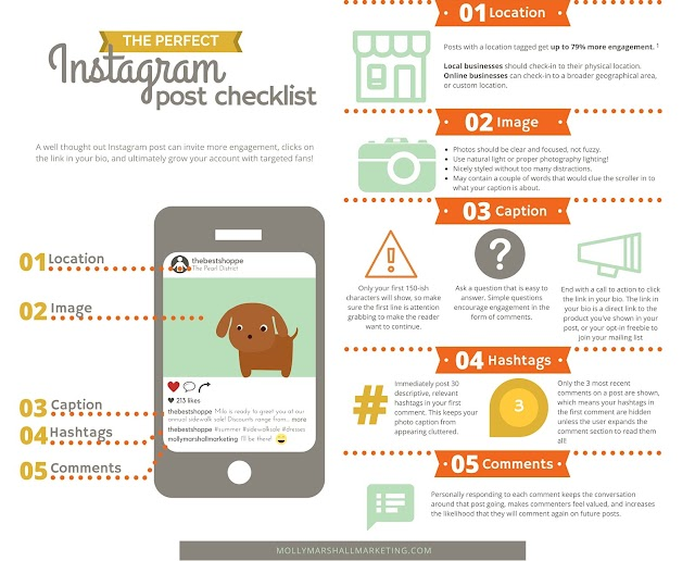 The #Instagram post checklist #startsmeup