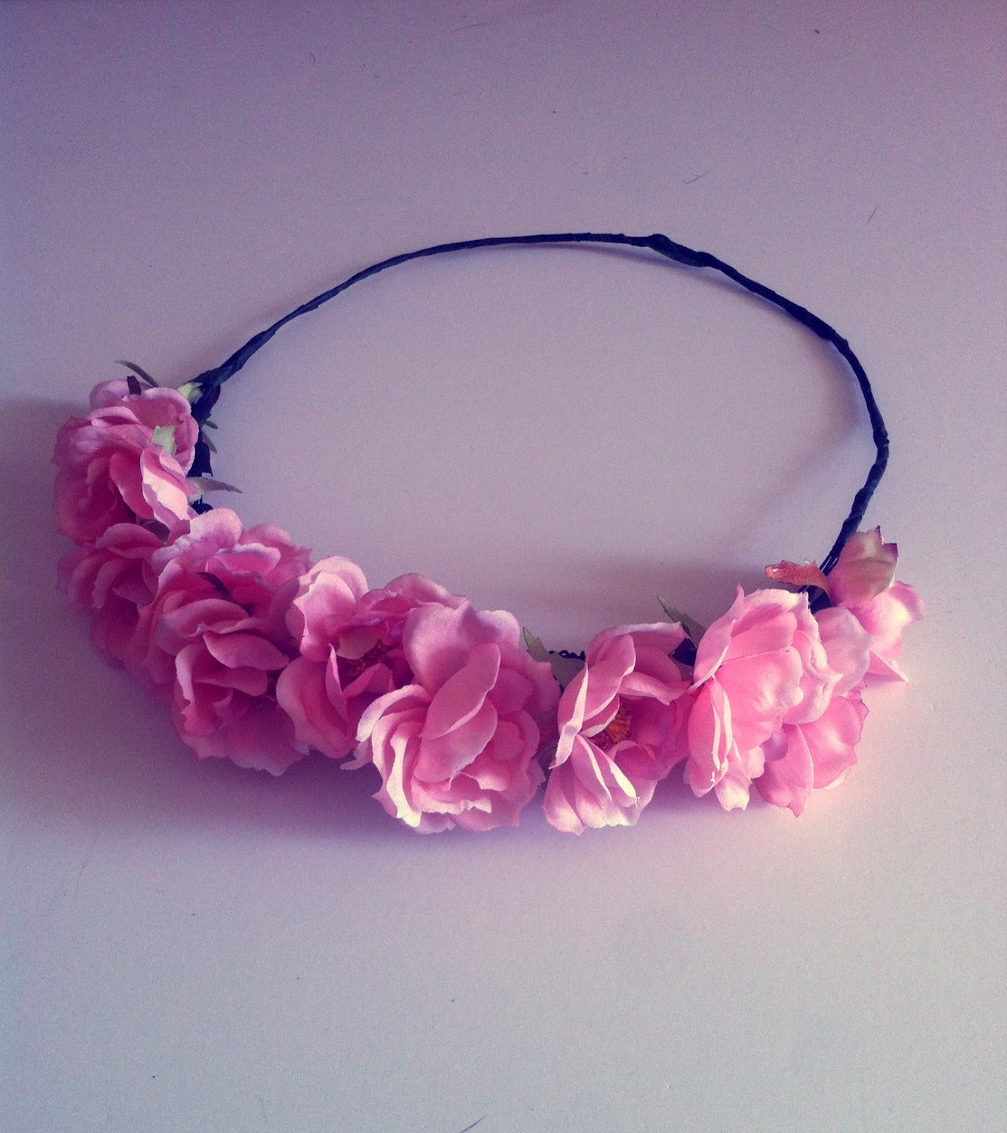 Cassandra Love Flower Crown DIY