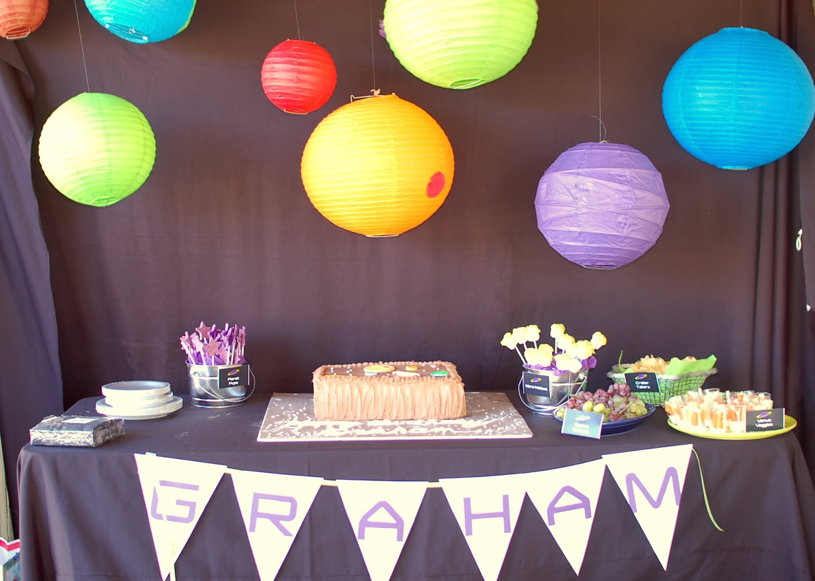 solar system party decorations - photo #5