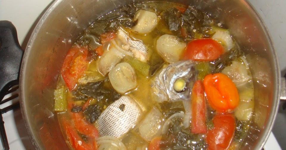 Dungandzi le bouillon de petites carpes - Court bouillon poisson maison ...