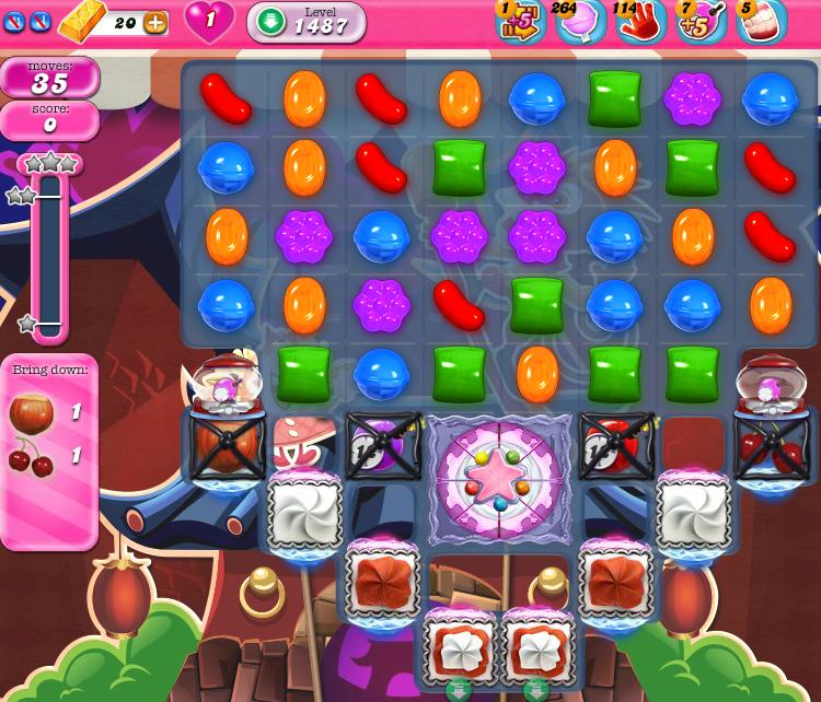 Candy Crush Saga 1487