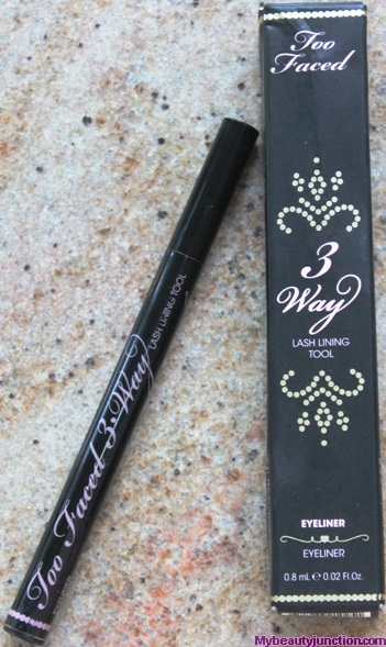 Too Faced 3 Way Lash Lining Tool review, swatches, photos