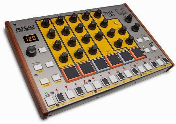 2015 Akai merilis Tom cat drum machine analog