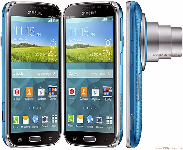 Samsung Galaxy K zoom blue color