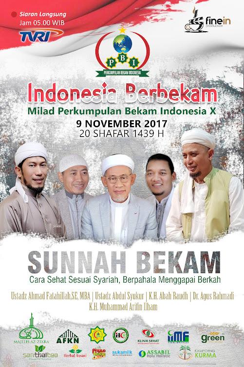 Sunnah Bekam Indonesia Berbekam