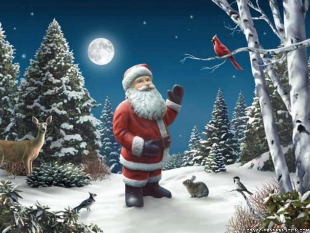 free images online santa claus wallpaper