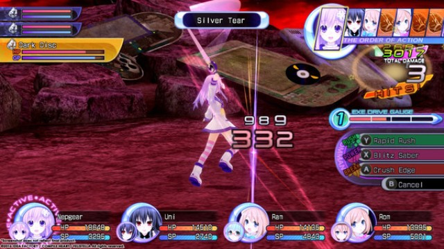 Hyperdimension Neptunia Re Birth2
