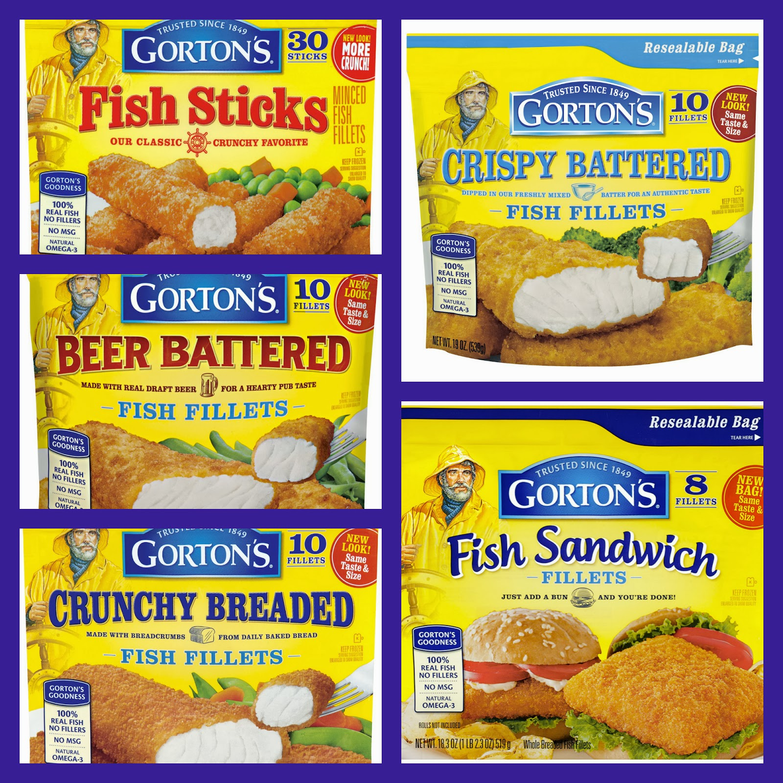 Wickedgoodseafood gortonsseafood product review and for Are fish sticks good for you