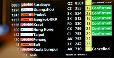 Pesawat AirAsia QZ 8501 Dilaporkan Terhempas Di Perairan Belitung Indonesia