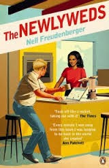 UK retro book cover of The Newlyweds by Nell Freudenberger