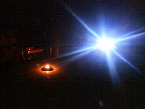 Ilustrasi mati lampu