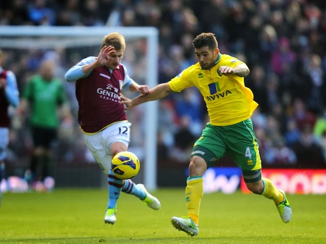 Prediksi Aston Villa vs Norwich City 2 Maret 2014