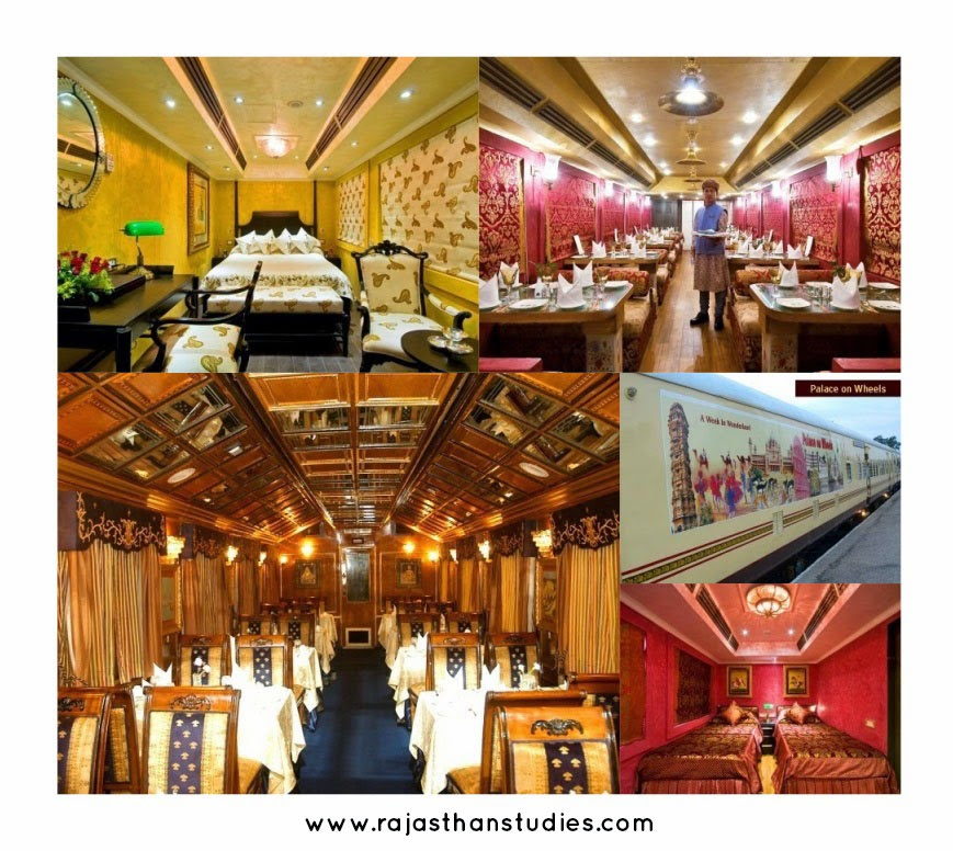 Rajasthan Royal Train  Collage - Plan a Holiday / Tour to Rajasthan
