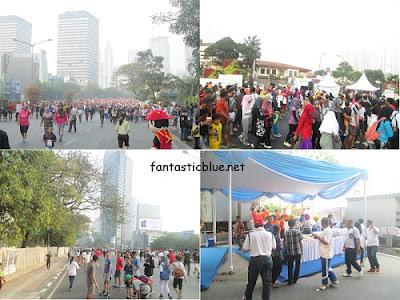 Suasana Carfreeday Di Jakarta