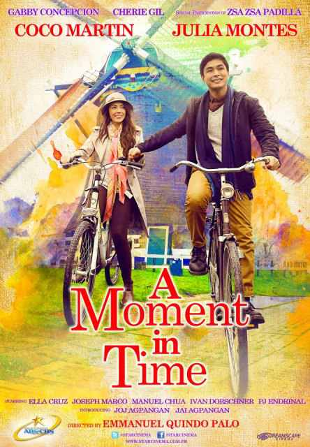 a moment in time movie poster