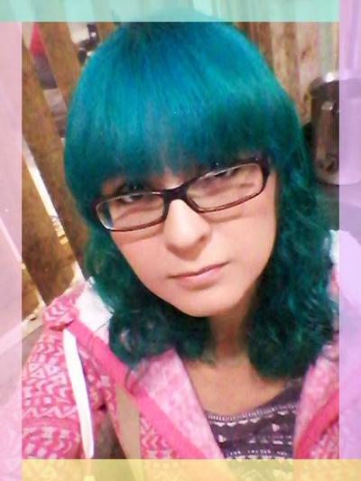 Koori KooriStyle Kawaii Cute Manic Panic ManicPanic Teal Aqua Fantasy Hair Dye