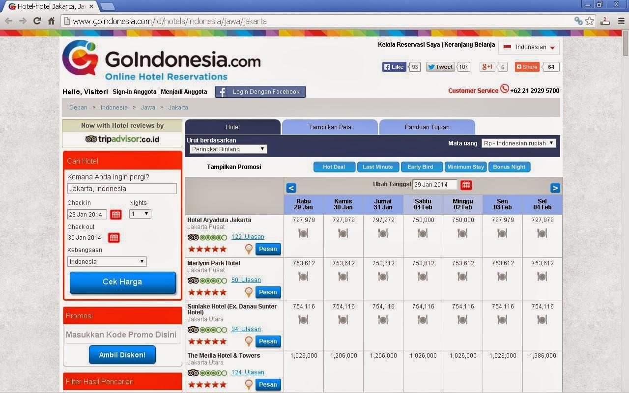 hotel jakarta goindonesia.com