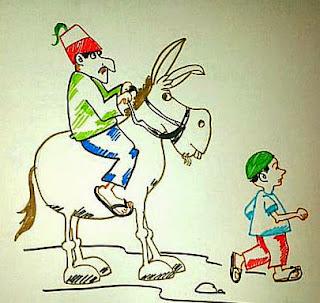 Cerita Hikmah: Bapak, Anak, dan Keledai
