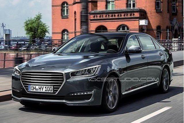 Xe Hyundai Genesis EQ900 siêu hút khách